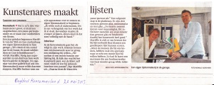 publicatie Dagblad Kennemerland_20_5_2105